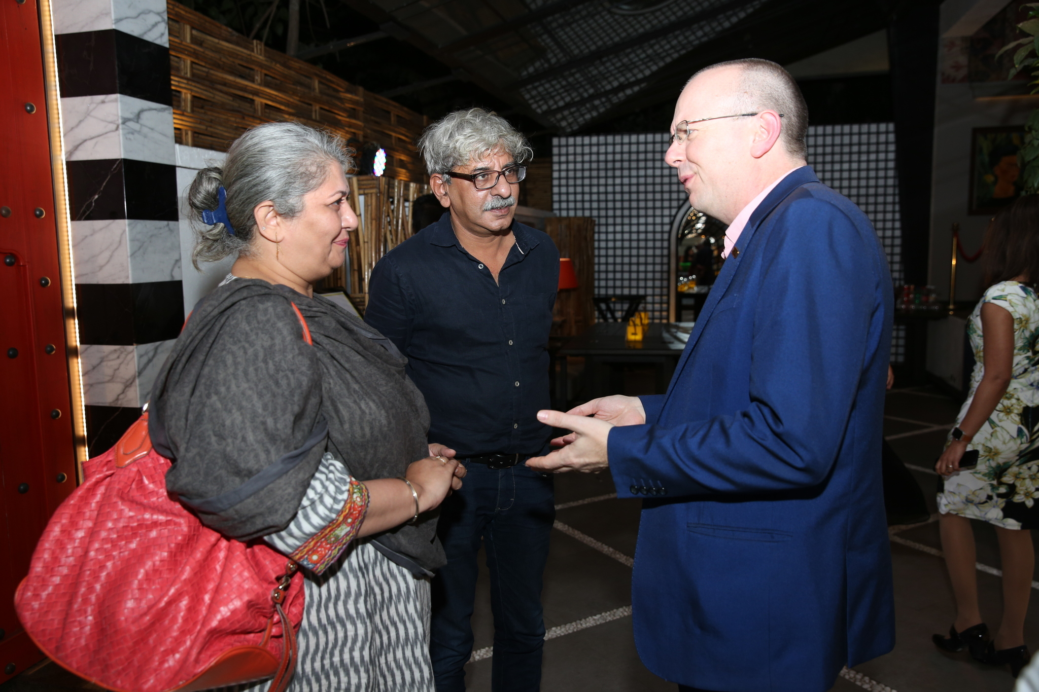 Col Needham and Sriram Raghavan