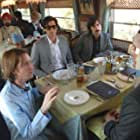 Adrien Brody, Jason Schwartzman, Owen Wilson, and Wes Anderson in The Darjeeling Limited (2007)