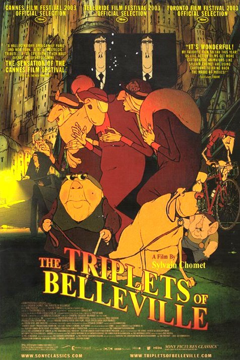 The Triplets of Belleville (2003) BluRay 720p & 1080p