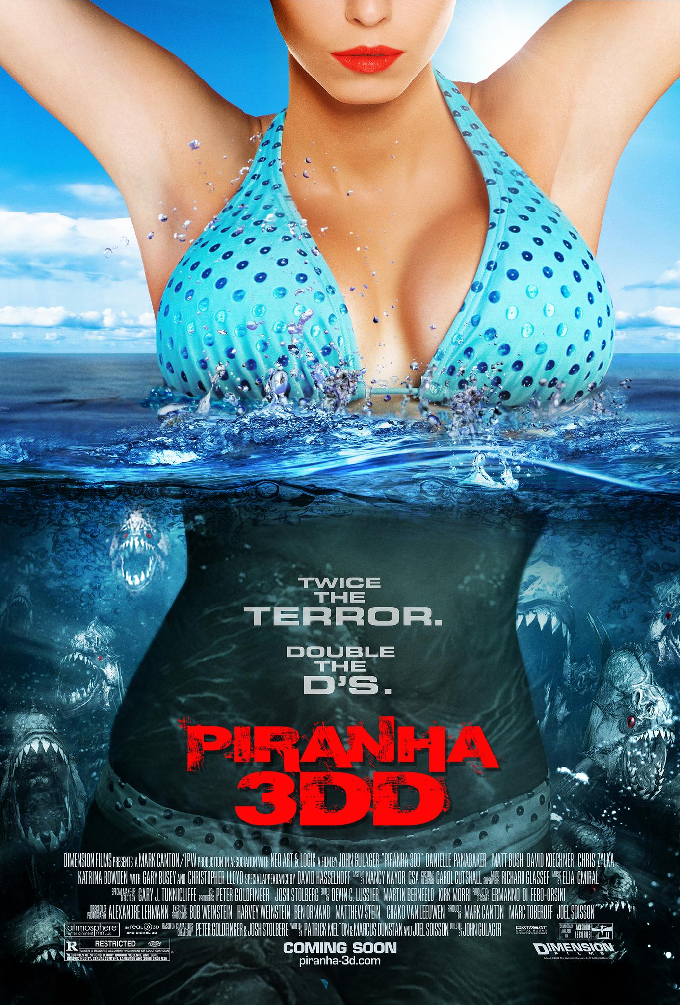 Resultado de imagem para piranha 3ddd