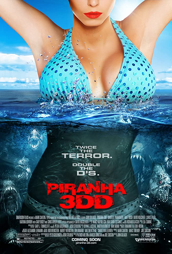 Piranha 3DD 2012 Movie BluRay UNRATED Dual Audio Hindi Eng 250mb 480p 800mb 720p 3GB 6GB 1080p