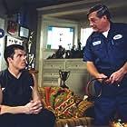 "Brandon Molale and Blake Clark in ""Mr. Deeds"""