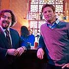 Aaron Eckhart and Dan Fogler in Love Happens (2009)