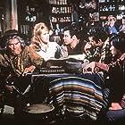 Jane Fonda, Lee Marvin, Michael Callan, Dwayne Hickman, and Tom Nardini in Cat Ballou (1965)