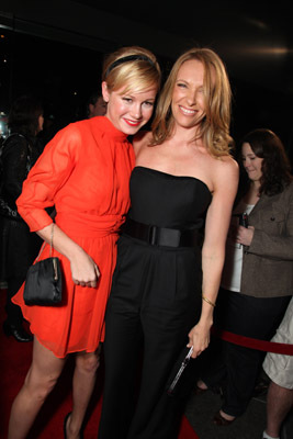 Toni Collette and Brie Larson at an event for United States of Tara (2009)