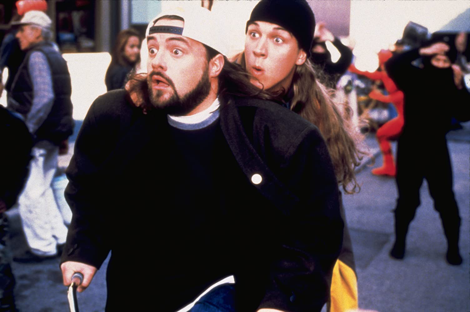 Kevin Smith and Jason Mewes in Jay and Silent Bob Strike Back (2001)
