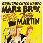 Groucho Marx, Virginia Grey, Marion Martin, Tony Martin, Chico Marx, and Harpo Marx in The Big Store (1941)