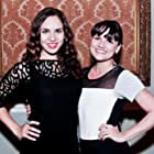 Amber Goldfarb (left) and Sarah Booth (right) at the Assassin's Creed: Unity Launch Party