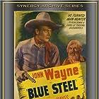 John Wayne and George 'Gabby' Hayes in Blue Steel (1934)