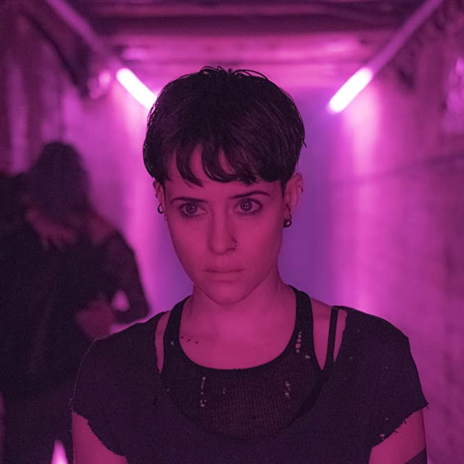 Claire Foy in The Girl in the Spider's Web: A New Dragon Tattoo Story (2018)