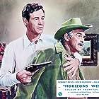 John McIntire and Robert Ryan in Horizons West (1952)