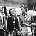 Kurt Russell, David L. Lander, Gerrit Graham, and Michael McKean in Used Cars (1980)