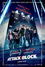 Nick Frost, Jodie Whittaker, and John Boyega in Attack the Block (2011)