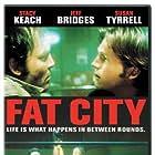 Jeff Bridges, Stacy Keach, Nicholas Colasanto, and Al Silvani in Fat City (1972)