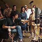 M. Night Shyamalan, Jackson Rathbone, Nicola Peltz, and Noah Ringer in The Last Airbender (2010)