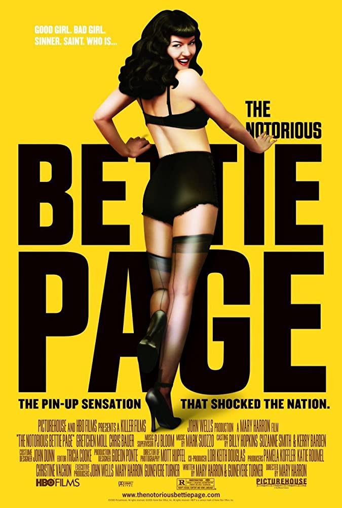 Gretchen Mol in The Notorious Bettie Page (2005)