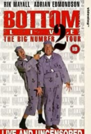 Bottom Live: The Big Number 2 Tour Poster