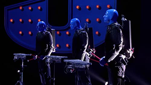 Superhuman: The Blue Man Group Participate In A Challenge