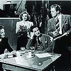 Judy Garland, Van Heflin, Mártha Eggerth, and William Tannen in Presenting Lily Mars (1943)