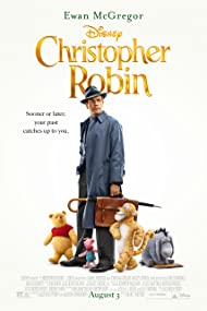 Ewan McGregor, Brad Garrett, Jim Cummings, and Nick Mohammed in Christopher Robin (2018)