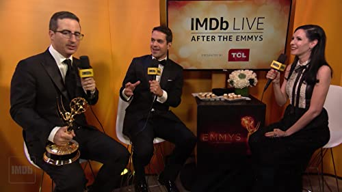 "John Oliver on ""Last Week Tonight With John Oliver"" Emmy Win, Weird Plush Toys"