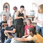 Jason 'Wee Man' Acuña, Ryan Dunn, Dave England, Mike Judge, Loomis Fall, Bam Margera, Ehren McGhehey, Chris Pontius, and Preston Lacy in Jackass 2.5 (2007)