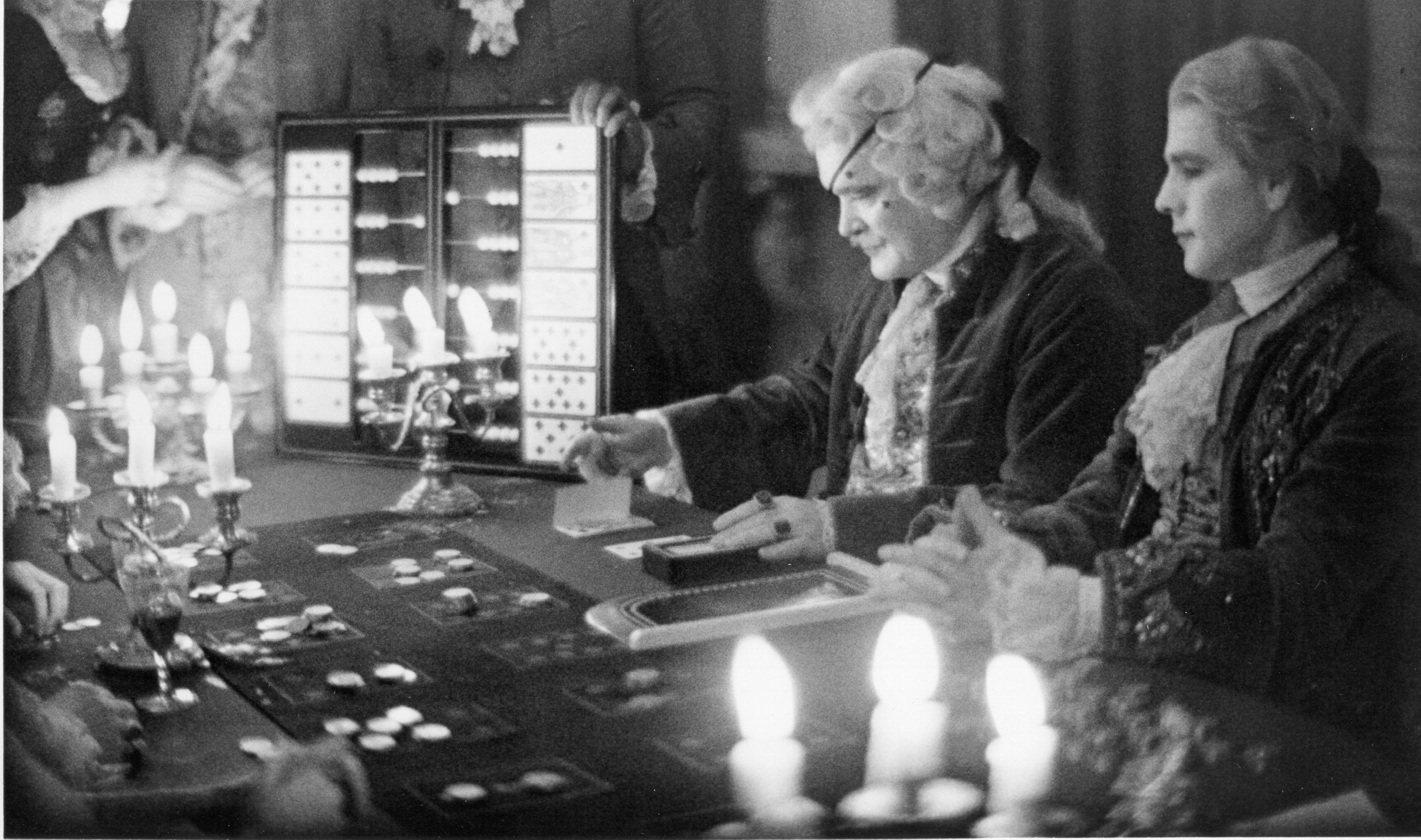 Patrick Magee and Ryan O'Neal in Barry Lyndon (1975)