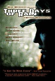 Three Days of Rain(2002) Poster - Movie Forum, Cast, Reviews