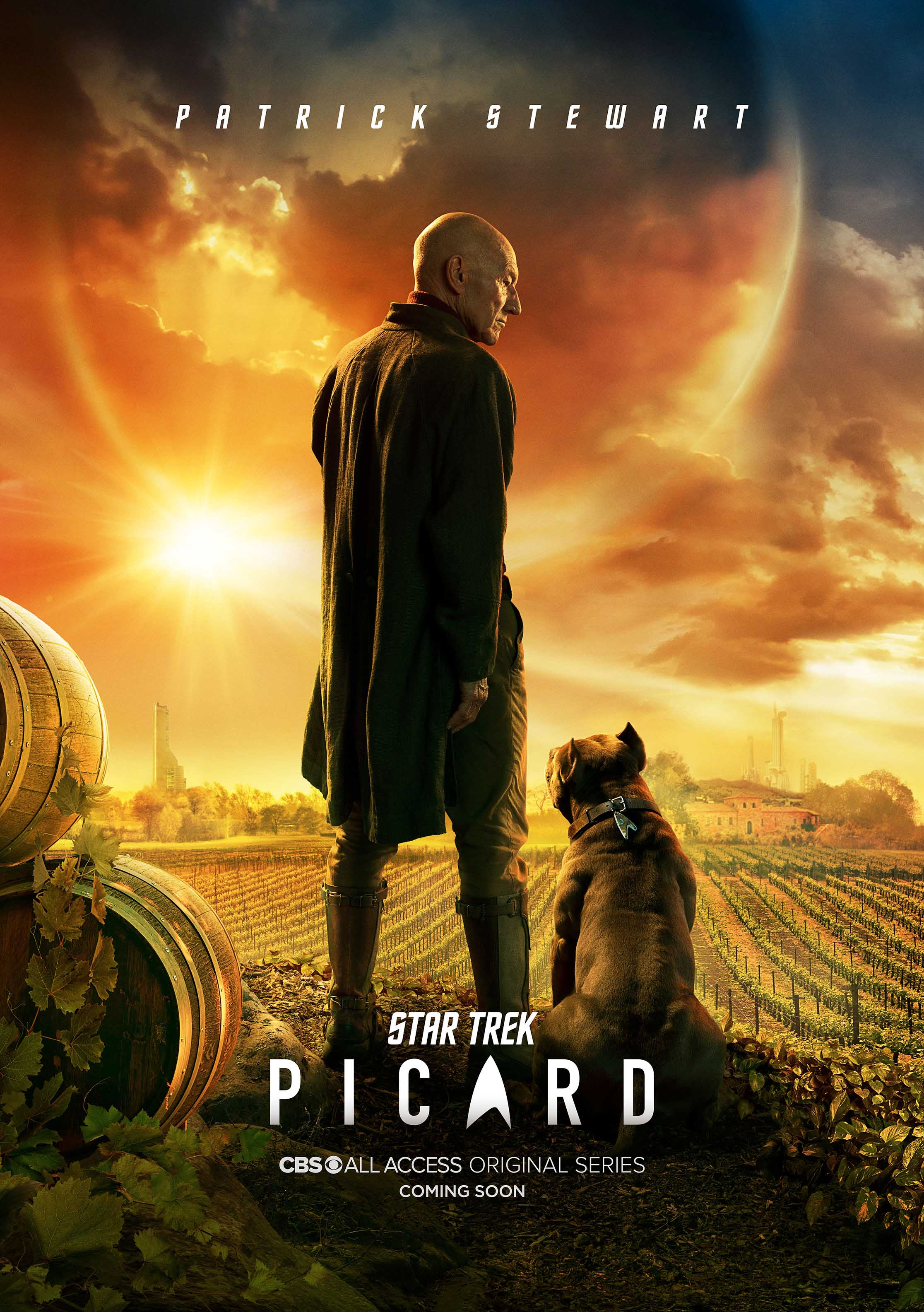 Star Trek: Picard (2020–) Dual Audio Amazon WEB-DL - 720P - x264 - 250MB - Download & Watch Online  Movie Poster - mlsbd