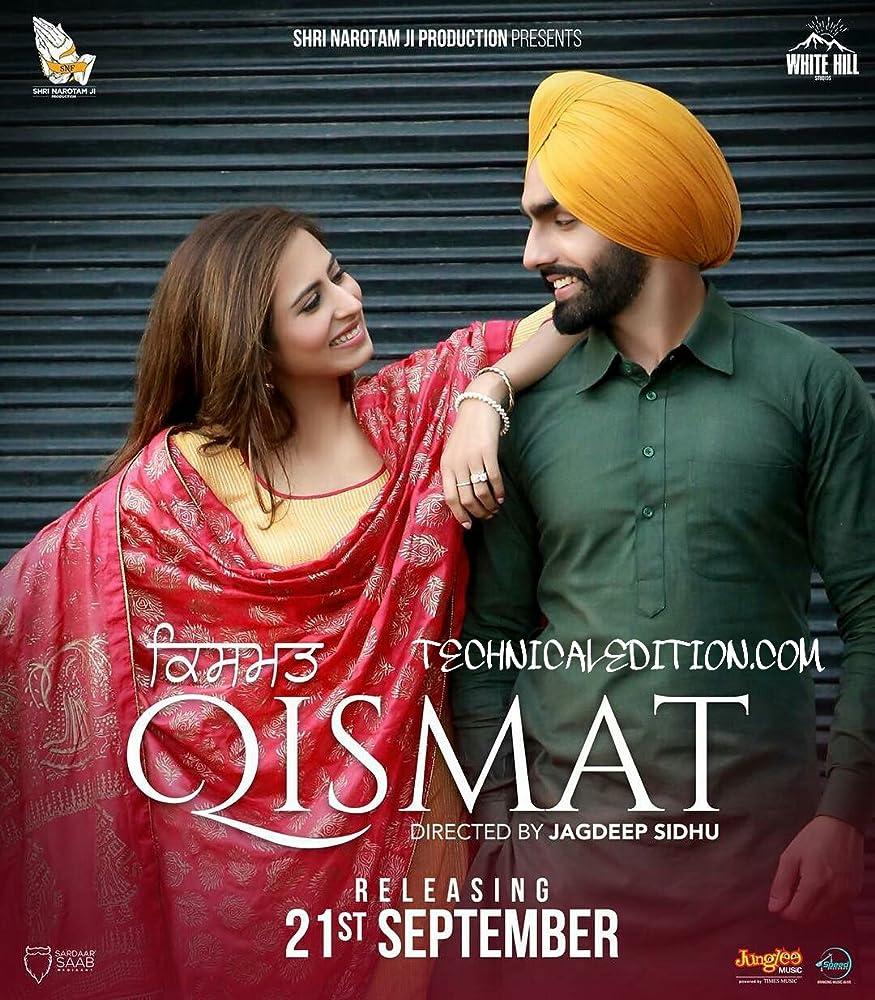 Qismat (2018) Punjabi 720p HDTVRip x264 AAC Exclusive BabaHD