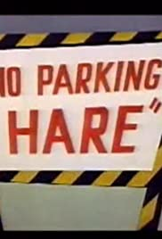 No Parking Hare Poster