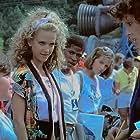 Kelly Preston, Lea Thompson, Kate Capshaw, Joaquin Phoenix, and Larry B. Scott in SpaceCamp (1986)
