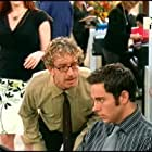 Andy Dick, Sara Rue, and Zachary Levi in Less Than Perfect (2002)