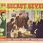 Joseph Crehan, Bruce Bennett, Joe Downing, Howard Hickman, and Florence Rice in The Secret Seven (1940)