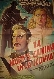 La muerte camina en la lluvia Poster