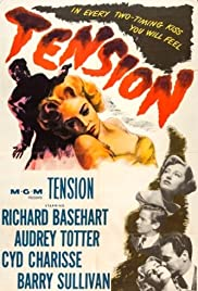 Tension (1949) Poster - Movie Forum, Cast, Reviews