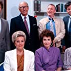 Willie Andréason, Carl Billquist, Sven Holmberg, Marika Lindström, Fillie Lyckow, Rico Rönnbäck, and Christina Schollin in Varuhuset (1987)