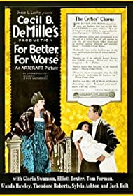 For Better, for Worse (1919)