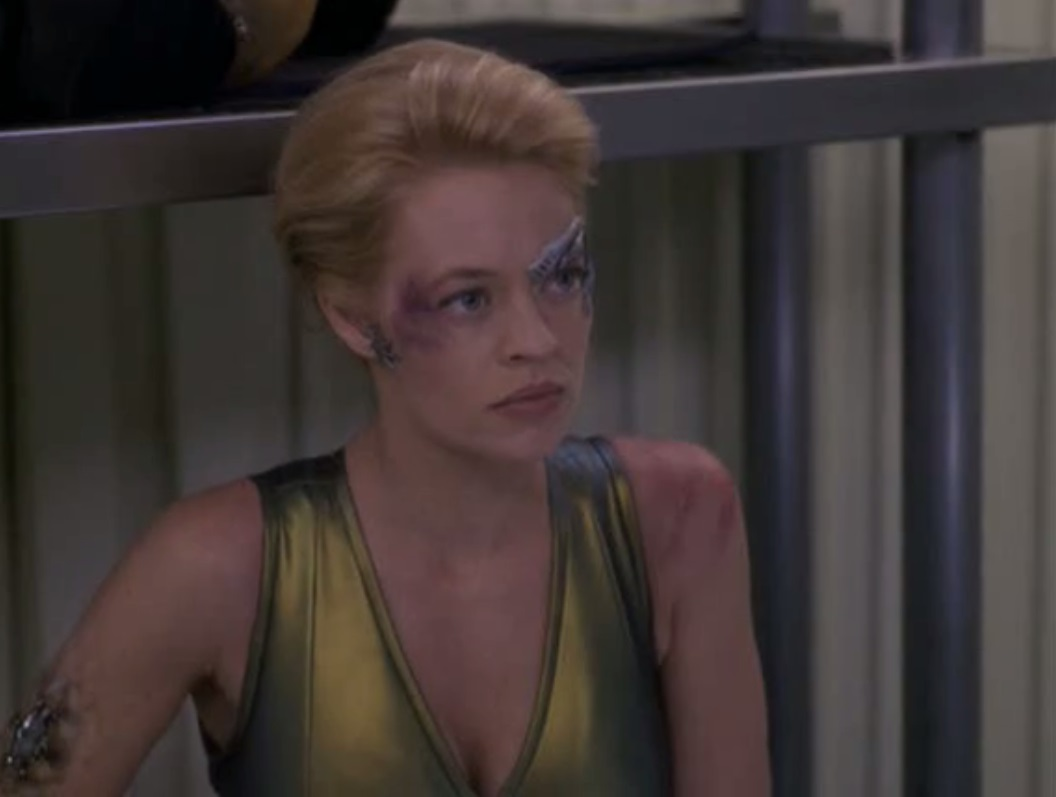 Was under jerri ryan fighting costume the