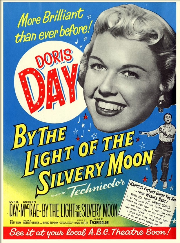 Doris Day and Gordon MacRae in By the Light of the Silvery Moon (1953)