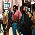 George Eastman, Bud Spencer, and Woody Strode in La collina degli stivali (1969)