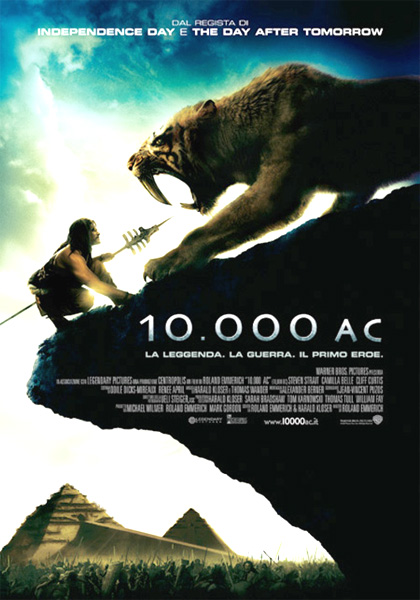 10,000 BC Hindi Dubbed Watch Online