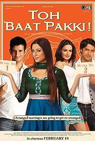 Tabu, Sharman Joshi, Vatsal Sheth, and Yuvika Chaudhary in Toh Baat Pakki! (2010)