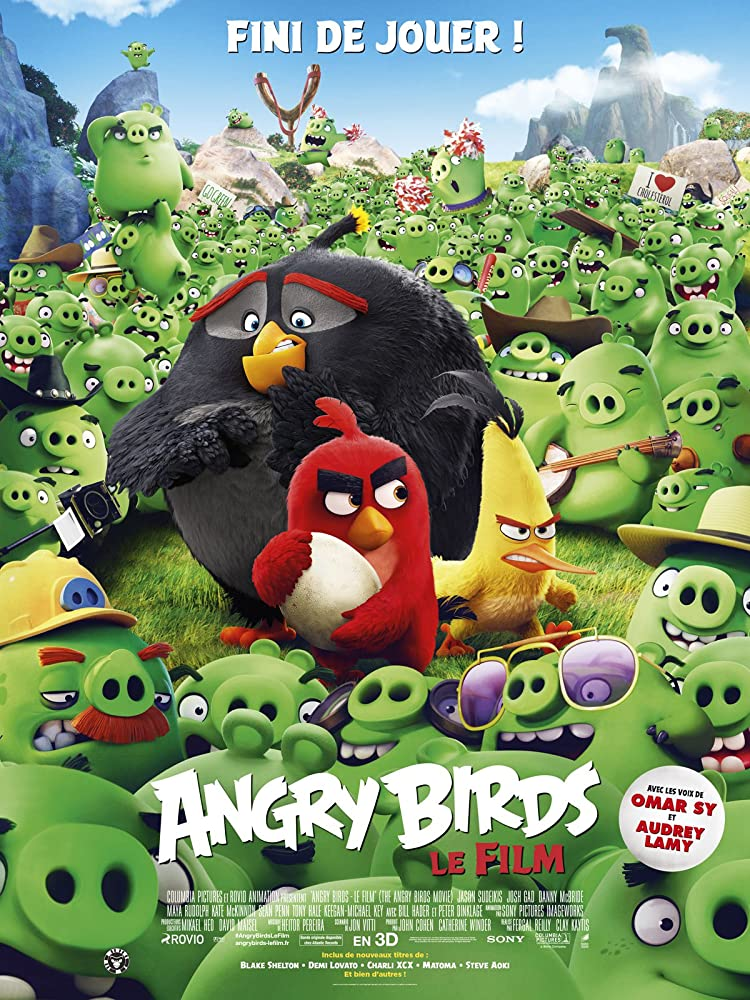 The Angry Birds Movie 2016 Hindi Dual Audio 400MB BluRay 480P ESubs