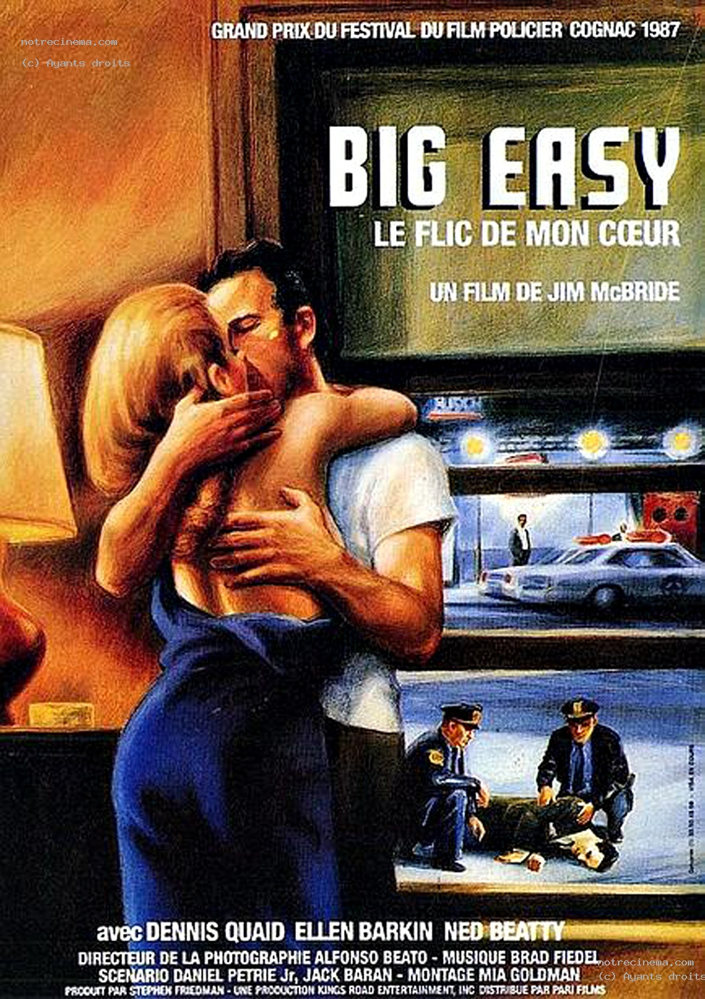 the big easy 1986 soundtrack