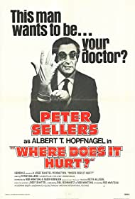 Where Does It Hurt? (1972) Poster - Movie Forum, Cast, Reviews