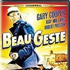Gary Cooper, Ray Milland, and Robert Preston in Beau Geste (1939)