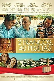 Isabel Blanco, Nieve de Medina, Javier Gutiérrez, Carlos Iglesias, Ángela del Salto, and Aldo Sebastianelli in 2 francos, 40 pesetas (2014)