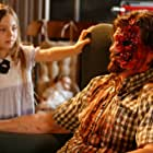 """Caitlin Carmichael and Don Swayze on set of feature film """"Lizzie"""" January 2010"""