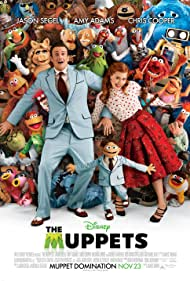 Amy Adams and Jason Segel in The Muppets (2011)
